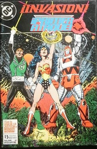 INVASIÓN: ¡PRIMER ATAQUE! Nº 2 EDICIONES ZINCO - DC COMICS (Tebeos y Comics - Zinco - Liga de la Justicia)