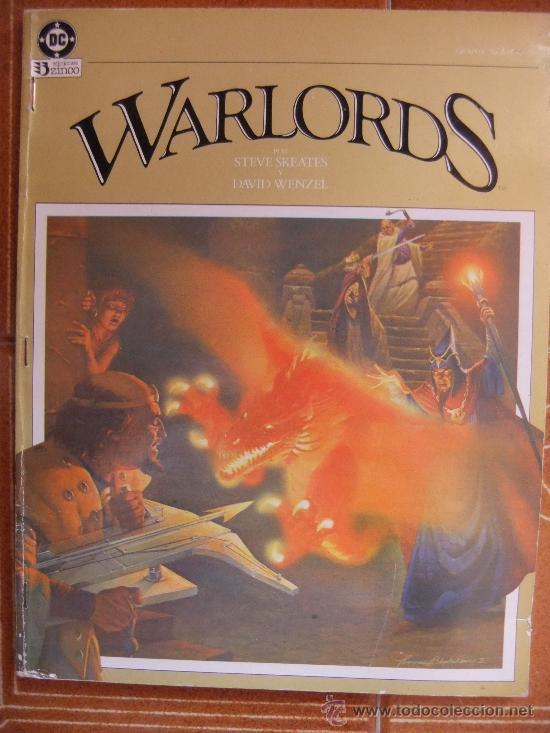 WARLORDS NOVELA GRAFICA (Tebeos y Comics - Zinco - Prestiges y Tomos)