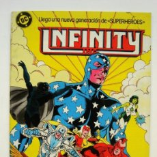 Comics: INFINITY INC Nº 8 - ZINCO (DC). Lote 33762483
