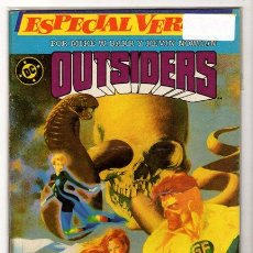 Cómics: OUTSIDERS # 1 ESPECIAL VERANO - ZINCO 1986 - MIKE BARR & KEVIN NOWLAN - 34 PAG EXCELENTE. Lote 34085253