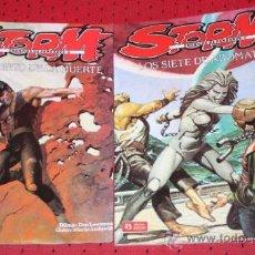 Cómics: STORM (LODEWIJK & LAWRENCE): CRONICAS DE PANDARVE,(TOMOS Nº2 Y Nº3). Lote 34234429