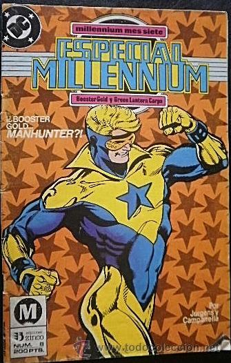 ESPECIAL MILLENIUM Nº 8 POR JURGENS Y CAMPANELLA DC CÓMICS (Tebeos y Comics - Zinco - Millenium)
