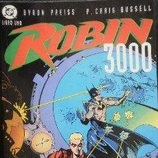 Comics: ROBIN 3000 LOTE AVENTURA COMPLETA DE 2 LIBROS BRYRON PREISS & P.CRAIG RUSSELL DC CÓMICS. Lote 34289125