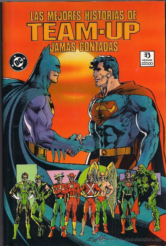 LAS MEJORES HISTORIAS DE TEAMP-UP, JAMAS CONTADA, TOMO (Tebeos y Comics - Zinco - Prestiges y Tomos)