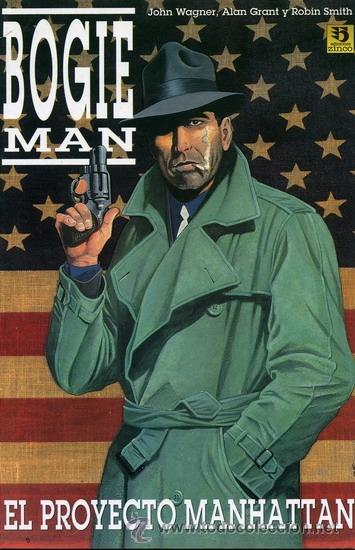 BOGIE MAN - EL PROYECTO MANHATTAN (Tebeos y Comics - Zinco - Prestiges y Tomos)
