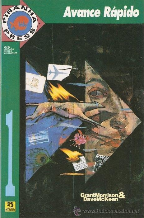AVANCE RAPIDO (MORRISON/MCKEAN) [SERIE COMPLETA] (Tebeos y Comics - Zinco - Prestiges y Tomos)