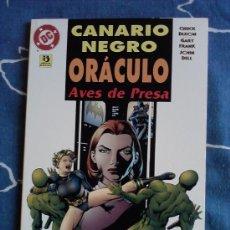 Cómics: CANARIO NEGRO, ORACULO, AVES DE PRESA, NUMERO UNITARIO, ED. ZINCO. Lote 34617795
