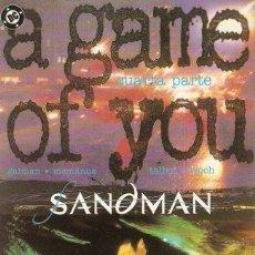 Cómics: SANDMAN - UN JUEGO DE TI 4 (A GAME OF YOU) (NEIL GAIMAN). Lote 34623340