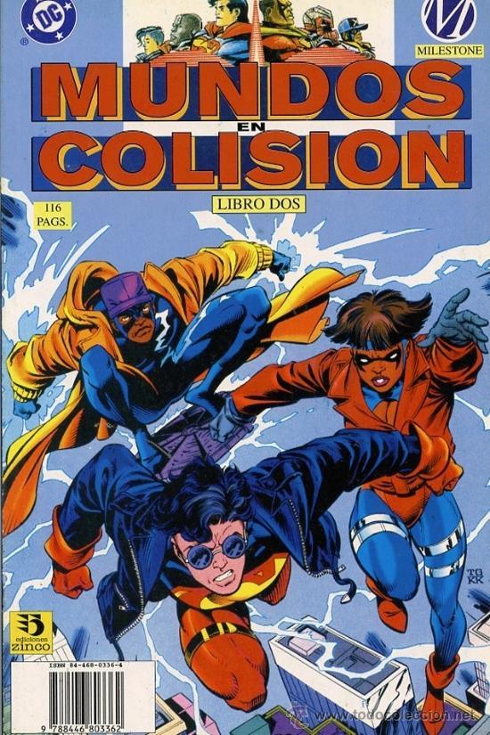 MUNDOS EN COLISION Nº2 (Tebeos y Comics - Zinco - Prestiges y Tomos)