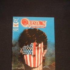 Cómics: QUESTION - Nº 14 - EDICIONES ZINCO - COMO NUEVO - . Lote 34670129