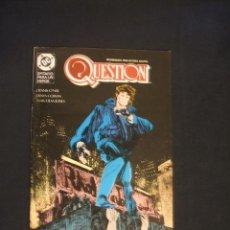 Cómics: QUESTION - Nº 15 - EDICIONES ZINCO - . Lote 34670144
