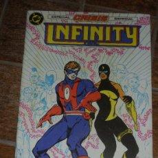 Cómics: INFINITY INC Nº 18. ESPECIAL CRISIS DC COMICS. ZINCO ROY THOMAS TODD MCFARLANE. Lote 34728156