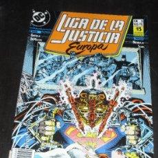 Comics - LIGA DE LA JUSTICIA EUROPA Nº 9. DC COMICS. EDICIONES ZINCO. - 34914410