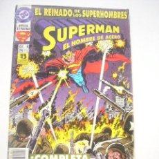 Comics: SUPERMAN EL HOMBRE DE ACERO Nº 4 EDICIONES ZINCO C17. Lote 224736491