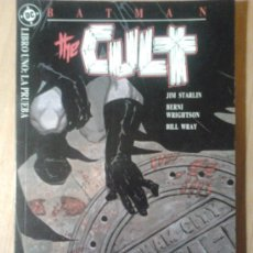 Comics: BATMAN/THE CULT LIBRO UNO: LA PRUEBA. Lote 35016160