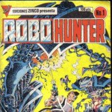 Cómics: ROBO HUNTER Nº 1. ZINCO. LITERACOMIC.. Lote 34994770