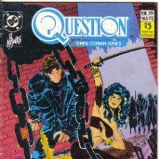 Cómics: QUESTION Nº 29. ZINCO. Lote 34994931