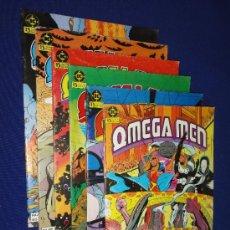 Cómics: LOTE DE 5 NÚMEROS DE OMEGA MEN - NºS 1 - 2 - 3 - 4 - 5 - DC ZINCO. Lote 112840134