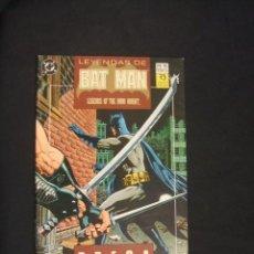Comics: LEYENDAS DE BATMAN - Nº 15 - EDICIONES ZINCO - . Lote 35123381