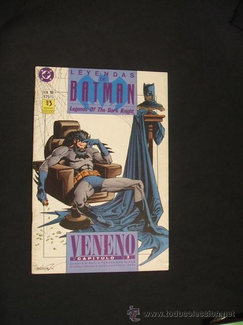 LEYENDAS DE BATMAN - Nº 18 - EDICIONES ZINCO - (Tebeos y Comics - Zinco - Batman)
