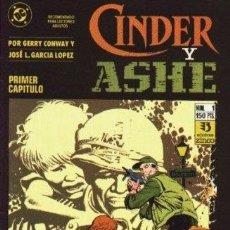 Cómics: CINDER Y ASHE [SERIE COMPLETA]. Lote 112923702