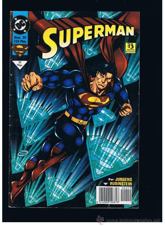 SUPERMAN Nº 29 - ZINCO (Tebeos y Comics - Zinco - Superman)