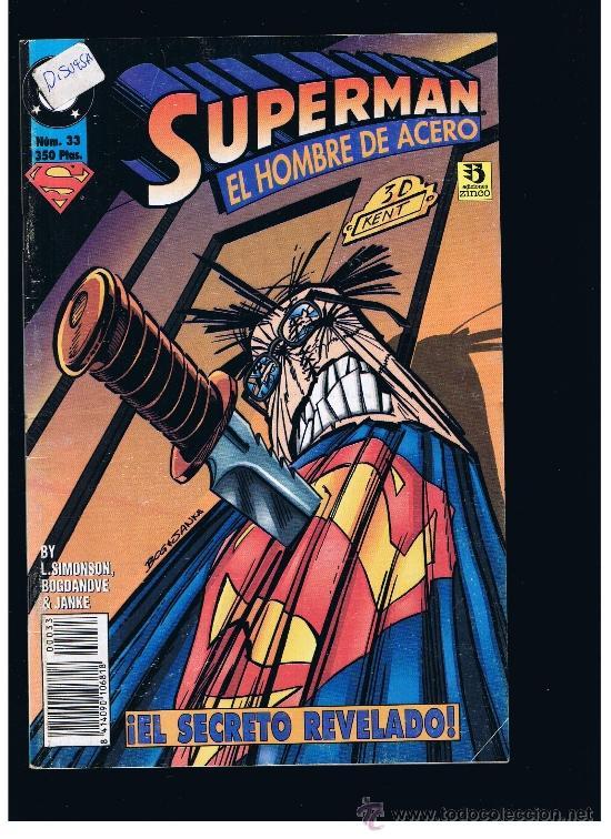 SUPERMAN Nº 33 - ZINCO (Tebeos y Comics - Zinco - Superman)