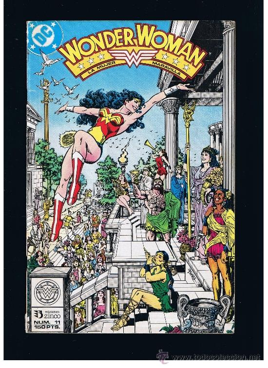 WONDER WOMAN Nº 12 - ZINCO (Tebeos y Comics - Zinco - Otros)
