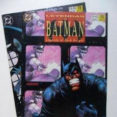 Cómics: LEYENDAS DE BATMAN Nº 42 Y 43 TERRITORIO (COMPLETO) . GRANT . MCMANUS. Lote 35225923
