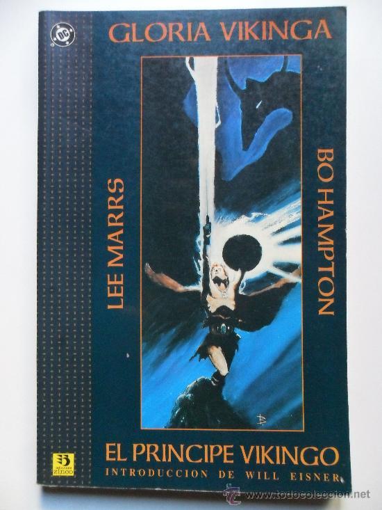 GLORIA VIKINGA EL PRINCIPE VIKINGO . LEE MARRS . BO HAMPTON (Tebeos y Comics - Zinco - Prestiges y Tomos)