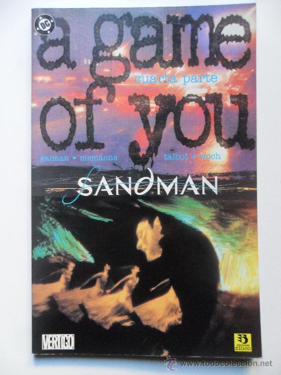THE SANDMAN A GAME OF YOU . CUARTA PARTE (DE 4) . NEIL GAIMAN . SHAWN MCMANUS (Tebeos y Comics - Zinco - Prestiges y Tomos)