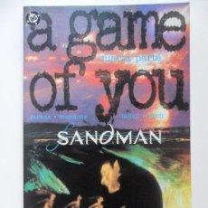 Cómics: THE SANDMAN A GAME OF YOU . CUARTA PARTE (DE 4) . NEIL GAIMAN . SHAWN MCMANUS. Lote 35260150