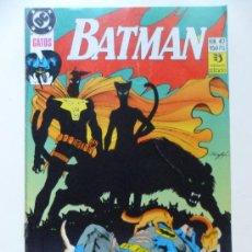 Cómics: BATMAN Nº 47 GATOS. Lote 35312220
