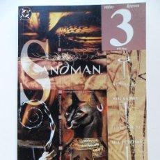 Cómics: THE SANDMAN VIDAS BREVES PARTE 3 . NEIL GAIMAN . JILL THOMPSON . VINCE LOCKE. Lote 35313064