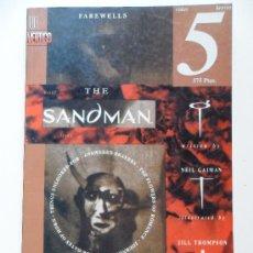 Cómics: THE SANDMAN VIDAS BREVES PARTE 5 . NEIL GAIMAN . JILL THOMPSON . VINCE LOCKE. Lote 35313110
