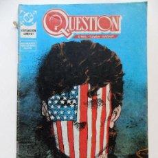 Cómics: QUESTION Nº 14 . O´NEILL . COWAN . MAGYAR. Lote 35344770