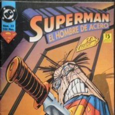 Cómics: SUPERMAN : EL HOMBRE DE ACERO Nº 33 LOUISE SIMONSON & JON BOGDANOVE DC COMICS. Lote 35408894