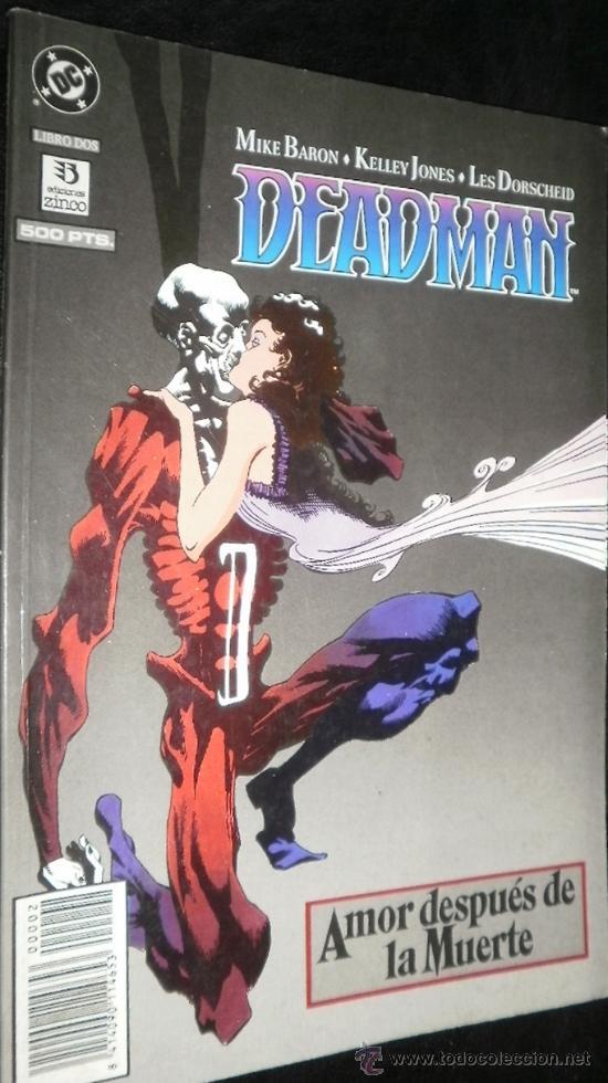 DEADMAN : AMOR DESPUÉS DE LA MUERTE Nº 2 MIKE BARON & KELLEY JONES & LES DORSCHEID DC CÓMICS (Tebeos y Comics - Zinco - Otros)