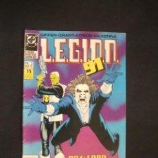 Cómics: LEGION 91 - Nº 3 - EDICIONES ZINCO -. . Lote 35517472