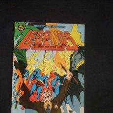 Cómics: LEGENDS - Nº 4 - EDICIONES ZINCO -. Lote 35518290