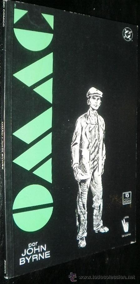 OMAC: EJERCITO DE UN SOLO HOMBRE POR JOHN BYRNE LIBRO 2 DE 4. ED. ZINCO - DC COMICS (Tebeos y Comics - Zinco - Otros)