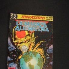 Cómics: INVASION - RETAPADO CON LOS NUMEROS 1, 2, 3 Y 4 - EDICIONES ZINCO - . Lote 35552431