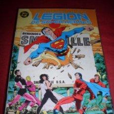 Comics: ZINCO DC LEGION DE SUPERHEROES NUMERO 6. Lote 171456469