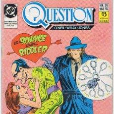 Cómics: COMIC QUESTION Nº26. Lote 36029936