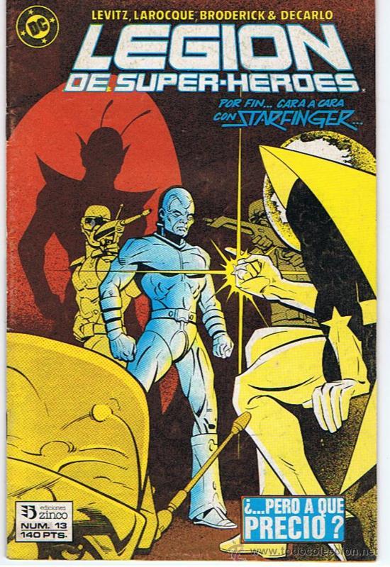 COMIC LEGION DE SUPERHEROES Nº13 (Tebeos y Comics - Zinco - Legión 91)