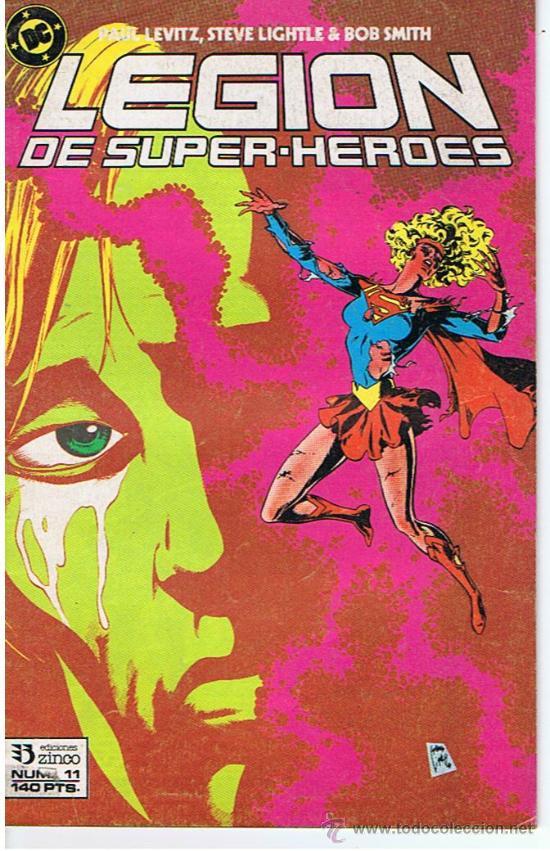 COMIC LEGION DE SUPERHEROES Nº11 (Tebeos y Comics - Zinco - Legión 91)