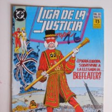 Cómics: TEBEO DC EDICIONES ZIMCO LIGA DE LA JUSTICIA EUROPA Nº 20. Lote 117861992