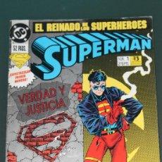 Comics: SUPERMAN 1 VOLUMEN 3 EDICIONES ZINCO EL REINADO DE LOS SUPERHEROES. Lote 36296791