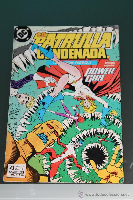 PATRULLA CONDENADA 13 ZINCO (Tebeos y Comics - Zinco - Patrulla Condenada)