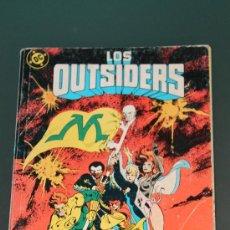 Cómics: TOMO RETAPADO DE LOS OUTSIDERS 25 - 26 Y ESPECIAL VERANO 88 ZINCO. Lote 36310226